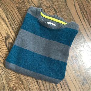 Old Navy boy's striped crew neck sweater